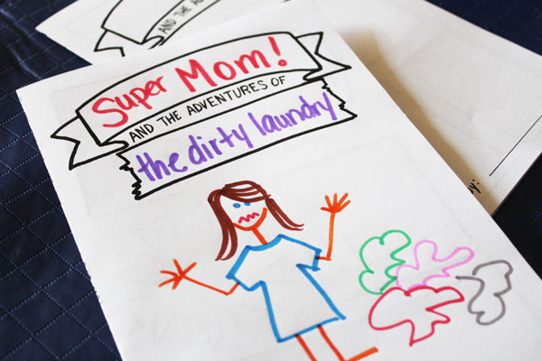 Super mom and the Adventures of the dirty laundry