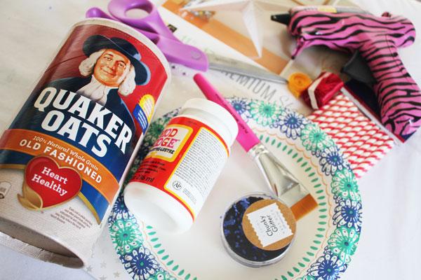 firecracker cookie jar supplies