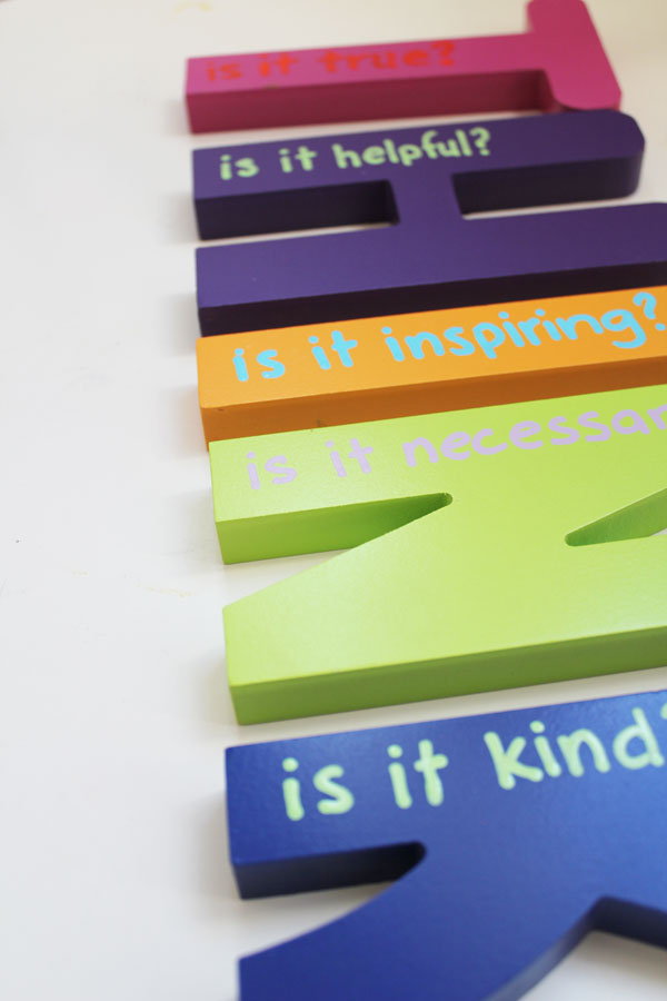 Think Letters for classroom