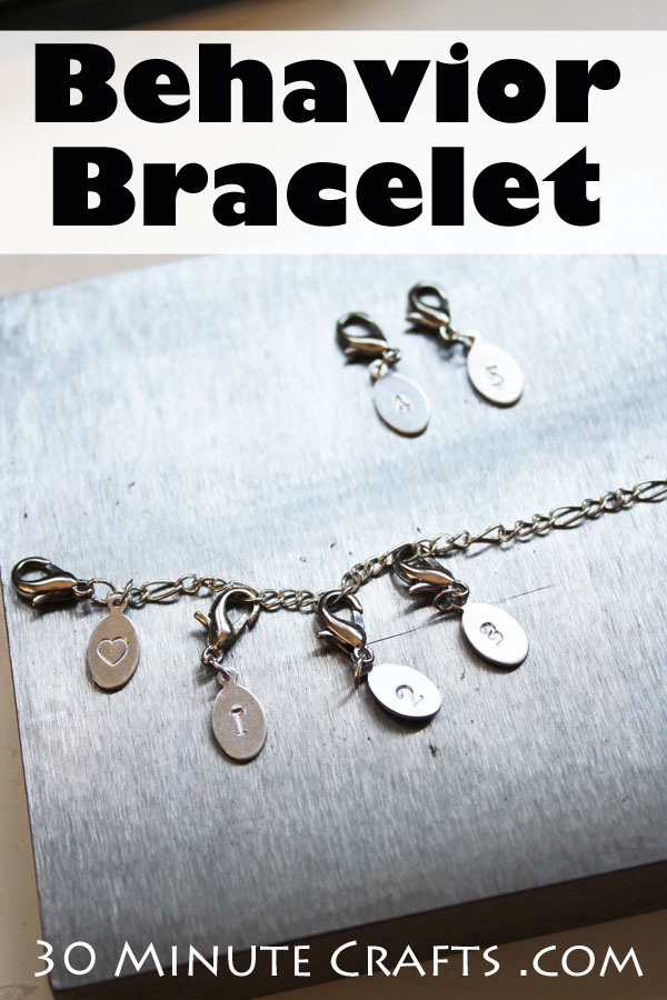 DIY Behavior Bracelet - the portable alternative to a Behavior Chart!