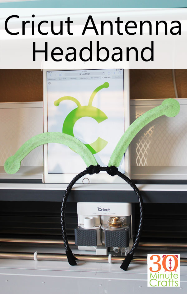 Cricut Maker Antenna Headband