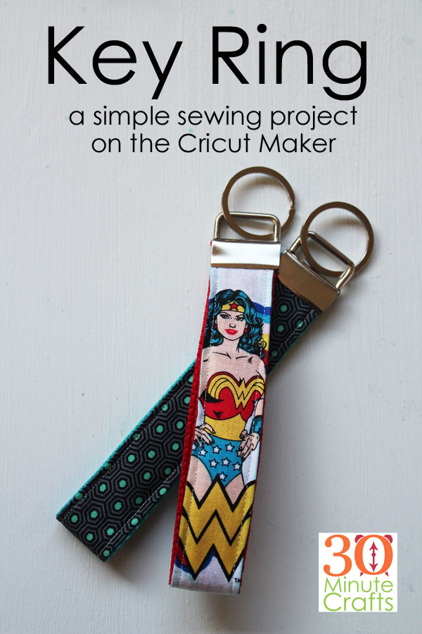 Key Ring - a simple sewing project