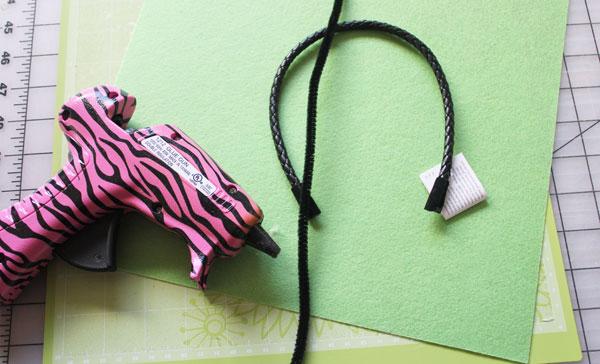 supplies for Cricut Antenna Headband