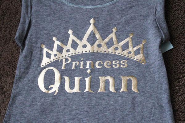 Custom Princess Shirt