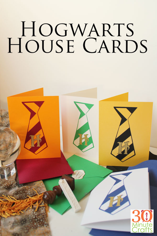 Hogwarts House Cards - Fun Harry Potter themed cards for any special occasion.