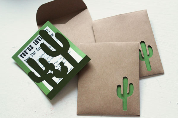 fiinished cactus invitations