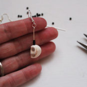 finished earring