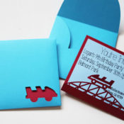 finished roller coaster card