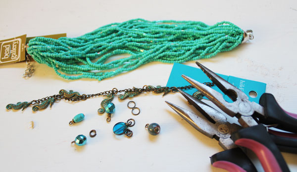 supplies for bracelet