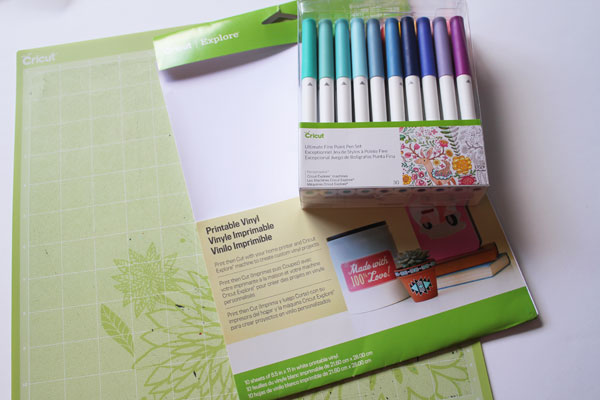 supplies for diy planner