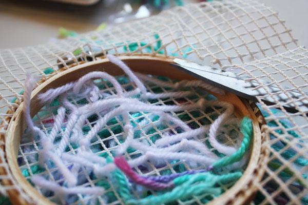 trim the mesh