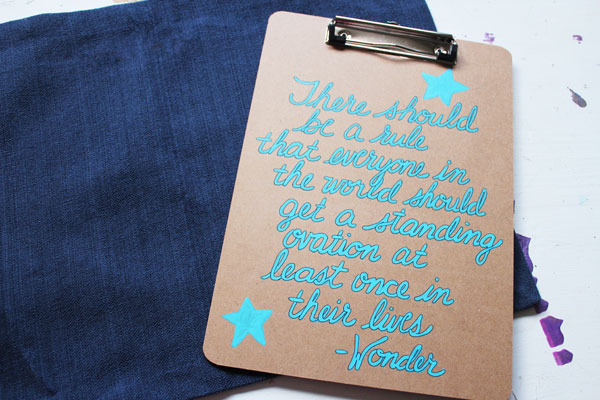 WONDER quote clipboard