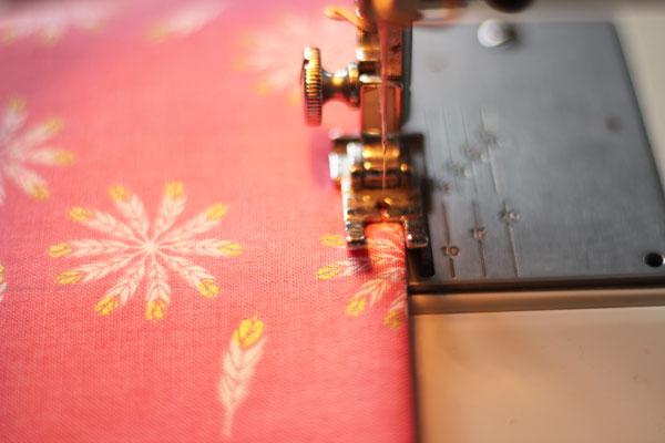 top stitch pocket