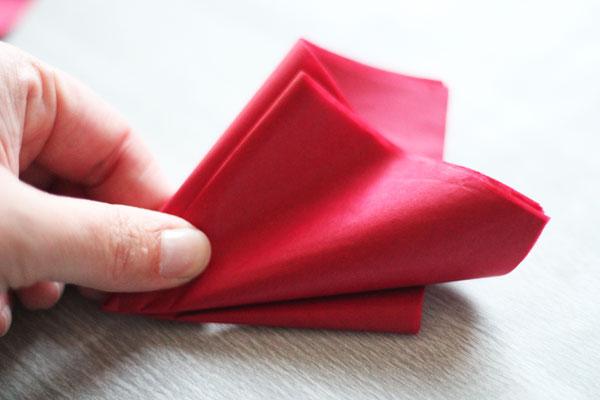 fold into thirds