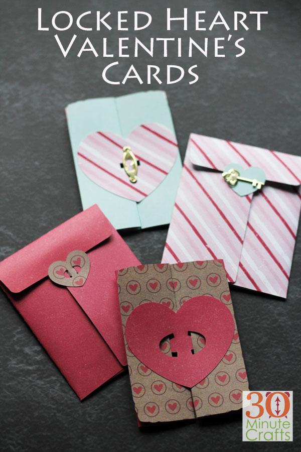 Locked Heart Valentine's DayCards