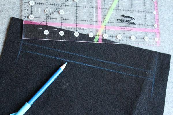draw zipper outline