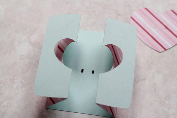 folded gate card