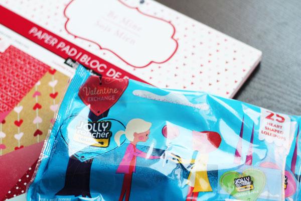 supplies for sucker valentines