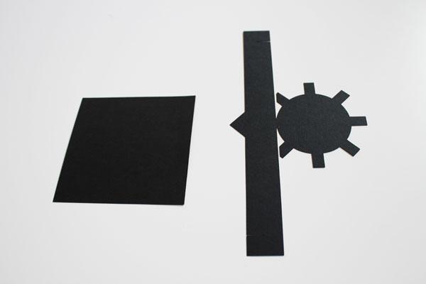 Mortarboard pieces
