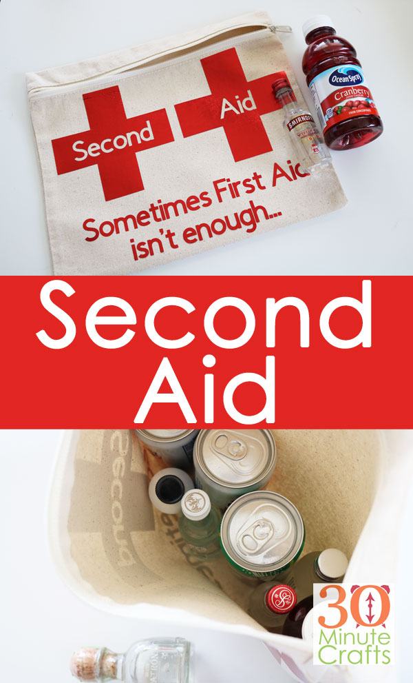 DIY Second Aid kit for those times that first aid is not enough