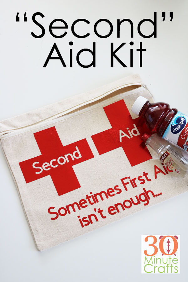 DIY Second Aid Kit - the perfect gift for anyone needing a pick-me-up!