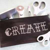 finished create pouch
