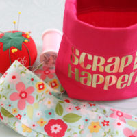 finished scrap happens pouch perfect for sewing