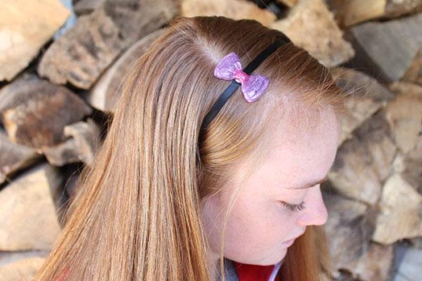 DIY Hot Glue Headband