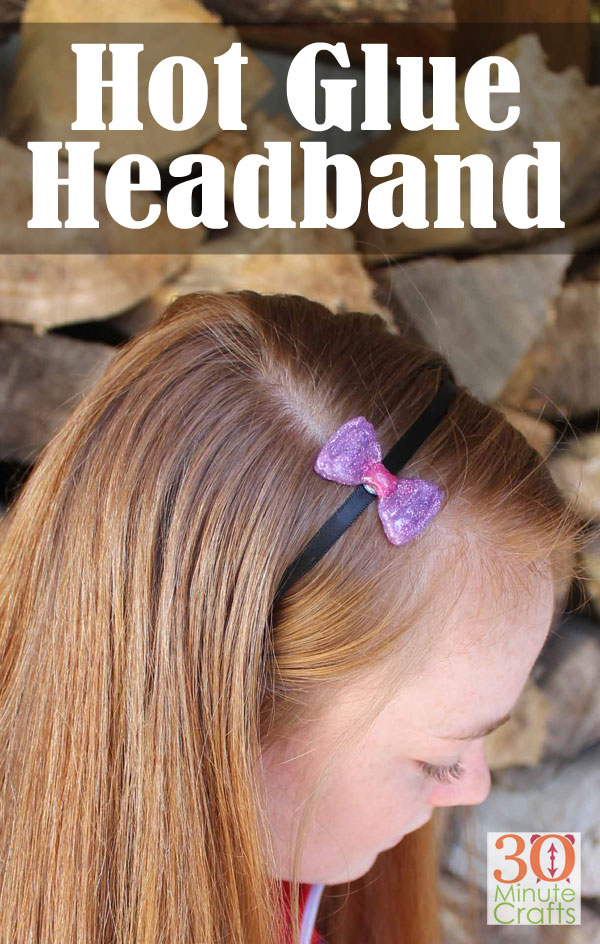 Hot Glue Headband