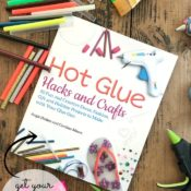 hot glue craft book