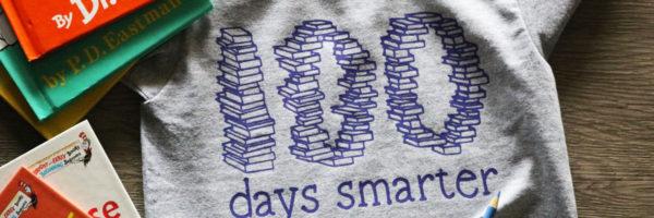 100 Days Book SVG file