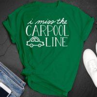 i miss the carpool line free svg