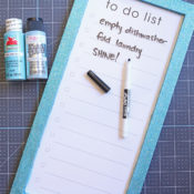 Glitter to Do list