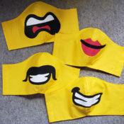Lego Head Face Masks
